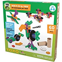 PBS KIDS Build It Kit by YOXO - 60 Piece Creative Building Toy