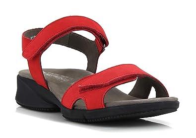 f76224b0e5859d Mephisto Sandales Francesca Ées - Argent: Amazon.fr: Chaussures et Sacs
