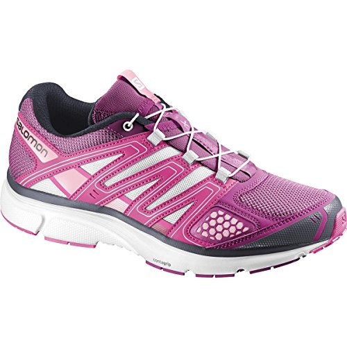 Salomon chaussures de course pour femme - MYSTIC PURPLE/HOT PINK/SAKURA PIN