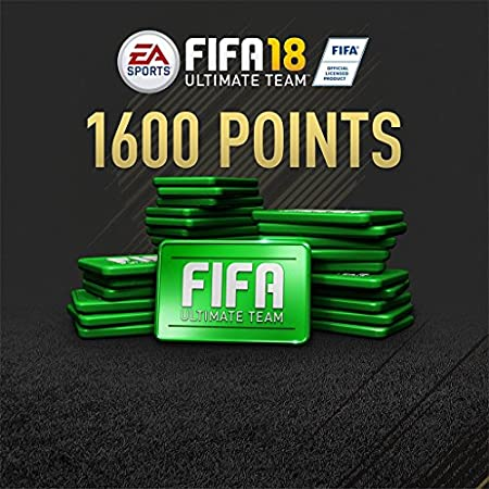 FIFA 18 - 1600 FIFA POINTS - PS4 [Digital Code]