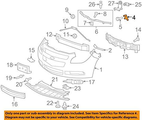 Steering System F-Bracket General Motors 25974275 Power Steering