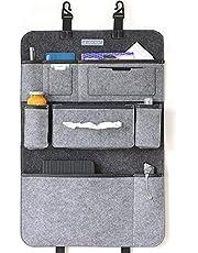 Auto Organizer rugleuningbescherming 2. Gerneratie met bevestigingshaken meerdere opbergmogelijkheden camper accessoires interieur