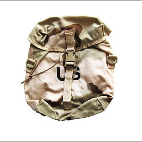 Specialty Defense Systems Molle Sustainment Pouch, Desert Camouflage (DCU) Pattern