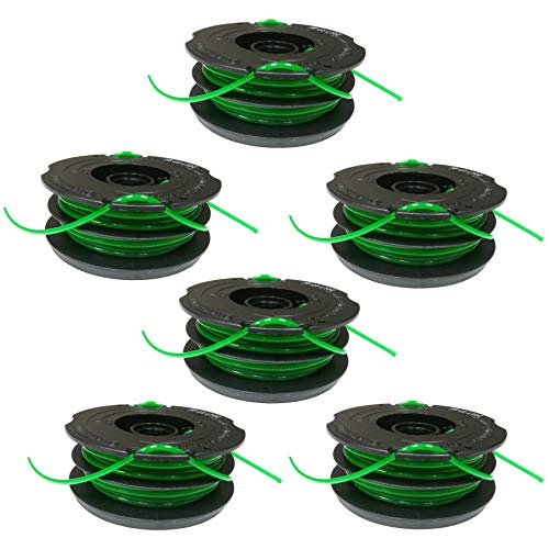 Black & Decker Dual Line AFS Replacement Spools DF-080 (6 Pack) (Black & Decker String Trimmer Gh1000 Parts)