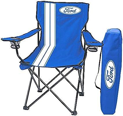 Amazon.com: Ford logotipo Portón Trasero Silla plegable con ...