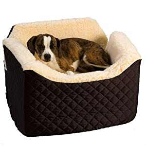 "Amazon.com : Pet Car Seat - Lookout I Medium (Black) (22""W"