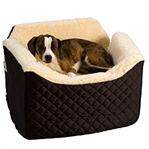 Dog Car Booster Seat For Small Medium Dogs Black