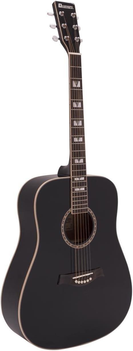 Black DIMAVERY STW-40 Western Guitar