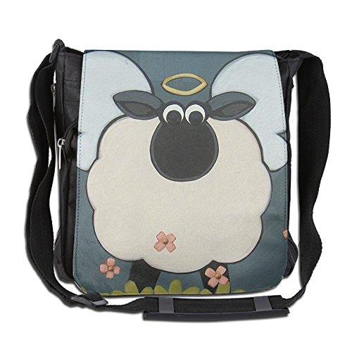 Classic Holy Sheep Messenger Bag Shoulder Bag Outdoor Sports Crossbody Bag Side Bag For Men Women