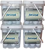 4 Pack - Fairway4 Recycled Titleist Golf Balls (30 Pack), White