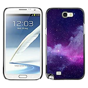 Planetar® ( Millions Of Radiant Energy ) SAMSUNG Galaxy Note 2 II / N7100 Fundas Cover Cubre Hard Case Cover
