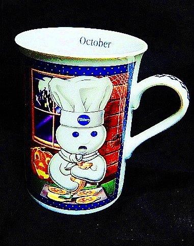 Vintage 2001 The Pillsbury Doughboy DANBURY MINT Month of October