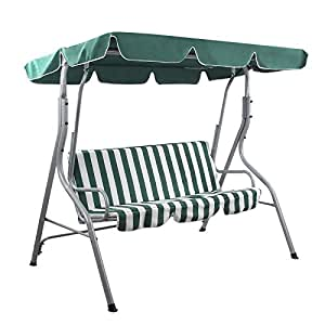 Songmics balancines de jard n silla para acampada columpio for Balancines de jardin