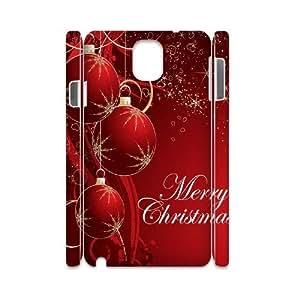 WEUKK Merry Christmas Samsung Galaxy Note3 N9000 3D phone case, diy phone case for Samsung Galaxy Note3 N9000 Merry Christmas, diy Merry Christmas cover case
