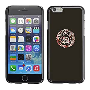 A-type Arte & diseño plástico duro Fundas Cover Cubre Hard Case Cover para Apple (5.5 inches!!!) iPhone 6+ Plus / 6S+ Plus (Birds Love Kiss Branches)