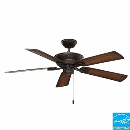 Hunter caicos 52 in new bronze wet rated ceiling fan amazon new bronze wet rated ceiling fan mozeypictures Choice Image