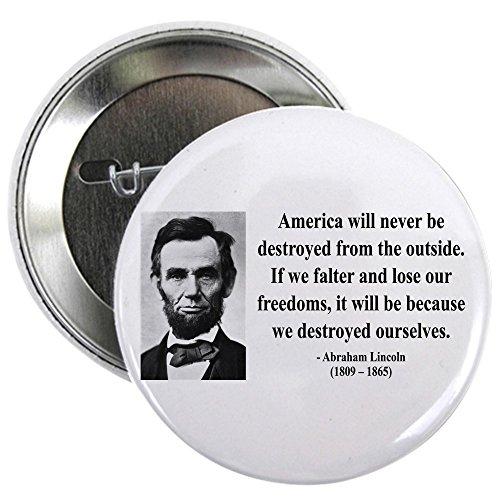CafePress - Abraham Lincoln 2 - 2.25
