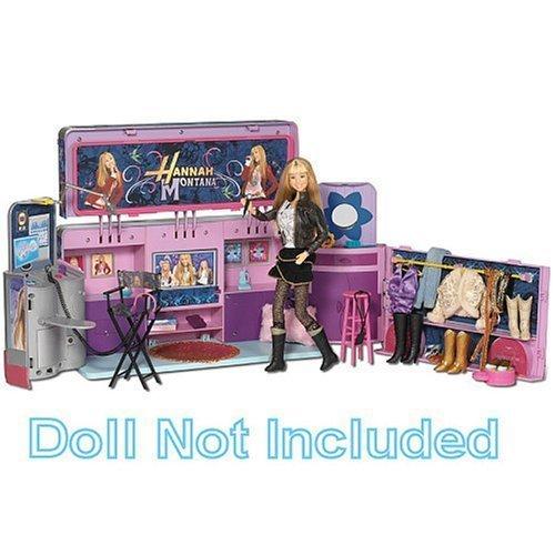 Disney Hannah Montana Pop Up Recording Studio Playset (Hannah Montana Wigs)