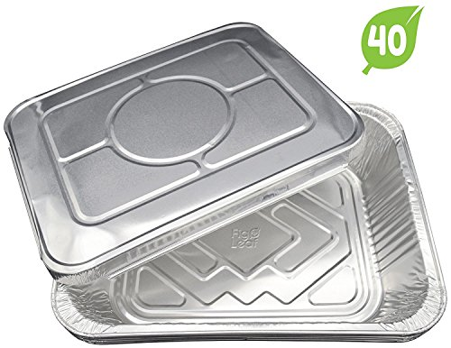 aluminum casserole pan with lid - 7
