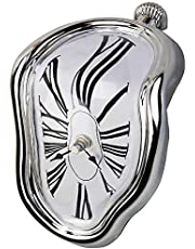 Decorative Dali Watch Melting Clock - Surrealistic Table Shelf Desk Fashion Clock Salvador Dali Inspired Funny Home Office Desks Watch Best Birthday Gift Idea for Men and Women by Creatov