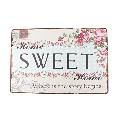 12x8 Inches Pub,bar,home Wall Decor Souvenir Hanging Metal Tin Sign Plate Plaque (SWEET (Plaque Sweet)