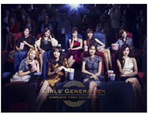 GIRLS' GENERATION COMPLETE VIDEO COLLECTION(完全限定盤DVD) B008V85QT8