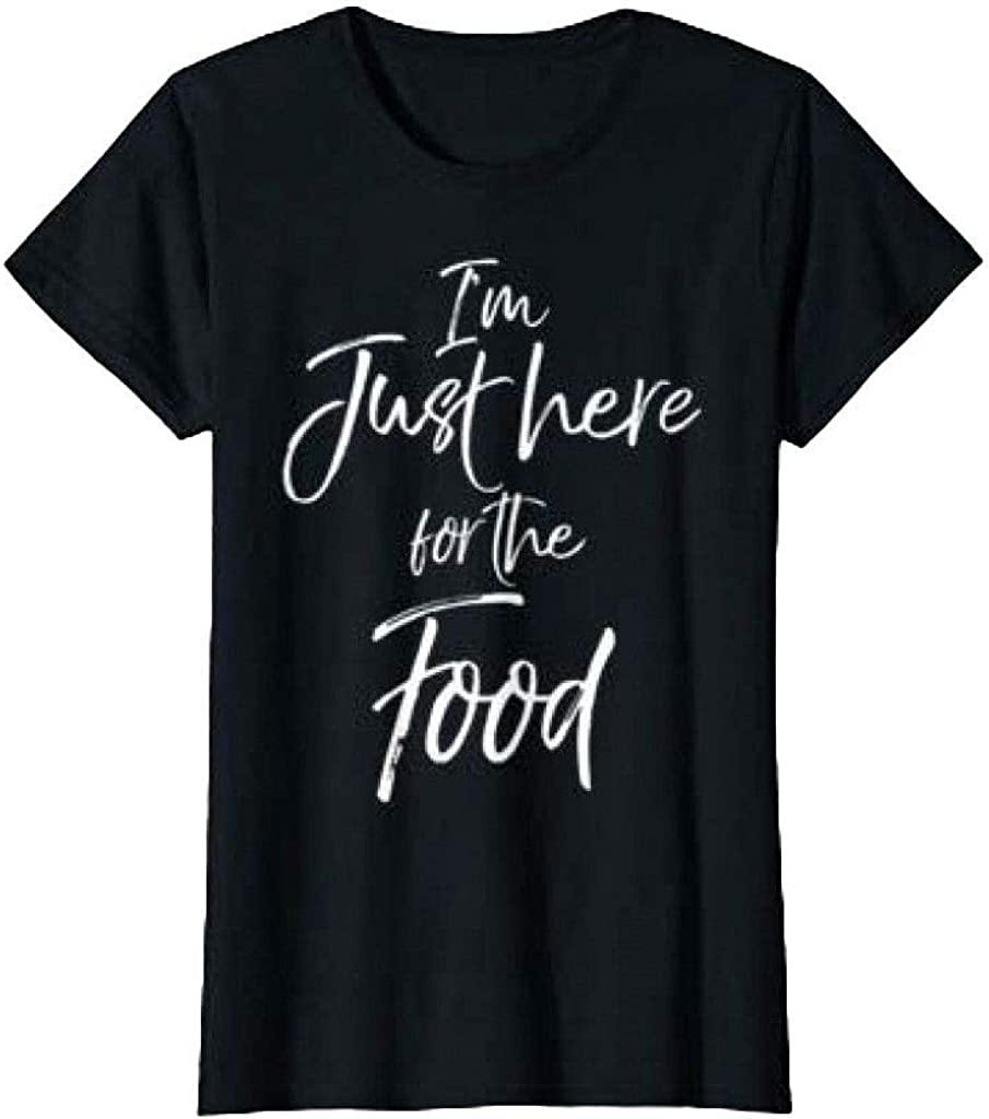Aonani & Partner I'm just here for The Food T Shirt