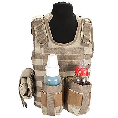 Evike Matrix Tactical Systems Baby Ciras Tactical Vest - BK/OD/Tan