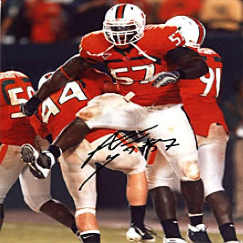 - Allen Bailey Autographed / Signed Celebration After Tackle 8x10 Photo