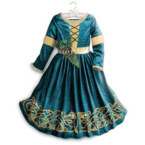 Disney Merida Costume for Kids - Brave Size 11/12 Green ()
