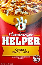Betty Crocker, Hamburger Helper, Cheesy Enchiladas, 7.5oz Box (Pack of 6)