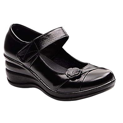 Daytwork Klettverschluss Schuhe Komfortabel Bootsschuhe Ballerinas qMVjUpLSzG