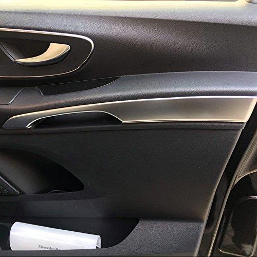 ABS mat Int/érieur Porte avant Accoudoir Coque Trim 2/pcs