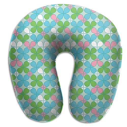 - Pummbaby Funny Lucky Clover U-Shaped Neck Pillow Rest Airplane Support Soft Travel Ornament Decorations Decor Fun Soft Tv Living Room Decorative Theme Outdoor Indoor Party Set