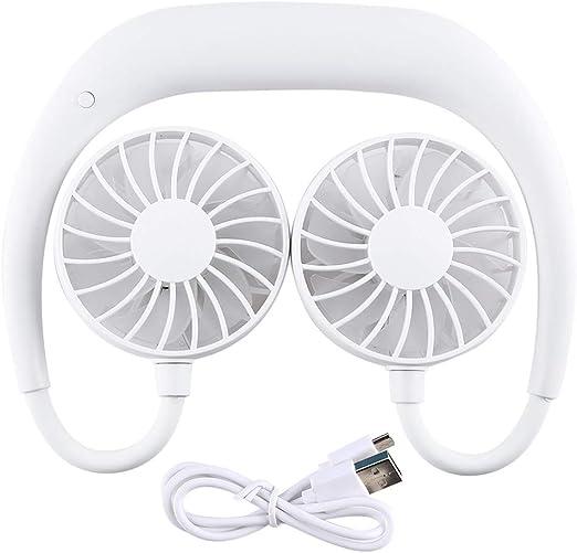 Nishore Ventilador Portátil USB Ajustable Carga Colgante ...