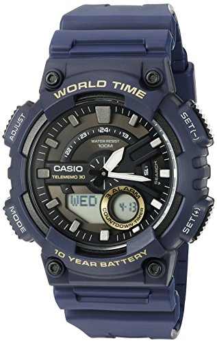Casio Heavy Quartz Resin Watch