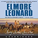 Forty Lashes Less One Audiobook by Elmore Leonard Narrated by Josh Clark
