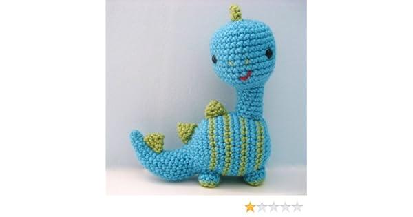 PDF T-Rex Crochet Pattern, Travis the T-Rex Crochet Pattern ... | 315x600