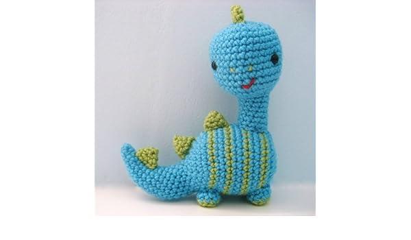 Amazoncom Dinosaur Crochet Amigurumi Pattern Ebook Amy Gaines