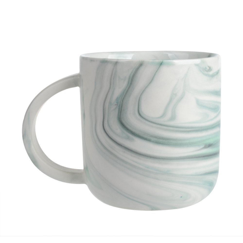 Douzi Ceramic Marbled Mug Set of 4, 16-Ounce Coffee Mug Set, Assorted Colors by Douzi (Image #3)