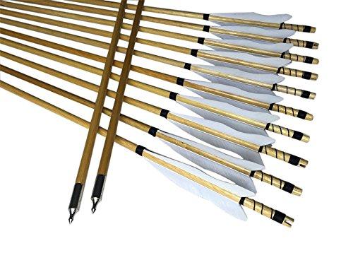 Wooden Arrow Shaft - 8