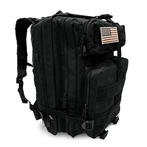 Military Tactical Backpack, Large Outdoor Rucksack for 3 Day Assault Pack Army Molle Bug Out Bag 40 L by Tacticca