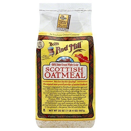Bob's Red Mill Organic Scottish Oatmeal, 20 oz, 2 pk by Bob's Red - Streusel Coffee Cake Topping