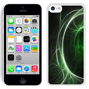 NEW Fashion Custom Designed Cover Case For iPhone 6 Plus 5.5 Inch Green Web White Phone Case