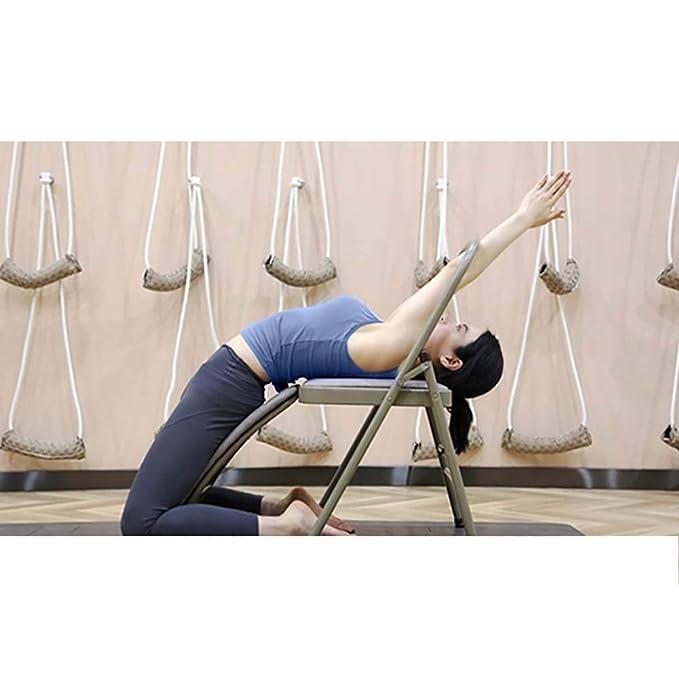 LRXGOODLUKE Multifuncional de heces, Yoga de la Silla de ...