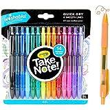 Crayola Washable Gel Pens, School Supplies, 14Count, Stocking Stuffer, Gift