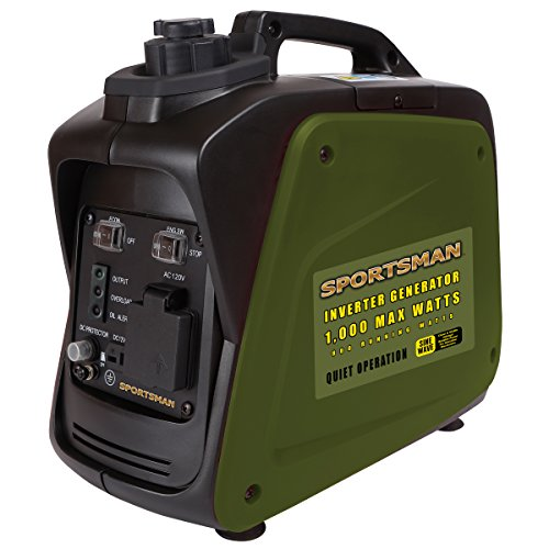 Sportsman Inverter Generator – 1000 Starting Watt/800 Running Watts – Gas Powered Portable Camping