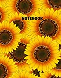 img - for RULED JOURNAL: NOTEBOOK, Sunflower Journal, Paperback, Diary, Composition Notebook for Writing in. PERFECT FOR WRITING IN, SKETCHING, DOODLING. FOR ... Diary, Planner, Gratitude, Writing, Travel, book / textbook / text book