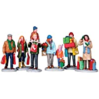Lemax Village Collection Holiday Shoppers Set of 6# 92683
