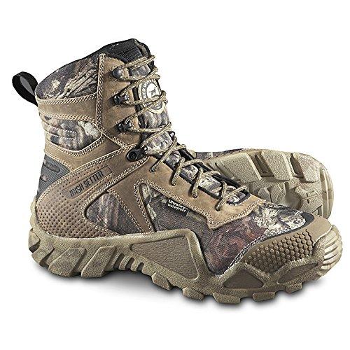 Irish Setter Men's 2874 Vaprtrek 8' Hunting Boot,Mossy Oak Break Up Infinity Camouflage,12 EE US